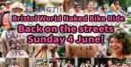 Bristol World Naked Bike Ride 2017
