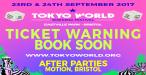 Tokyo World Weekend Festival 2017