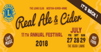 Weston Lions Real Ale & Cider Festival