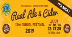 Weston Lions Real Ale & Cider Festival 2019