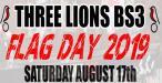 Three Lions Flag Day 2019