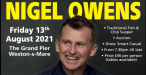 """An evening with """"The Worlds Best Referee"""" Nigel Owens MBE - Sponsored by Semper Aero Limited - 13th August 2021"""