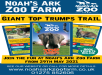 Noah's Ark Zoo Farm: Giant Top Trumps Trail - From 29th May 2021